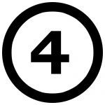 4NumberFourInCircle